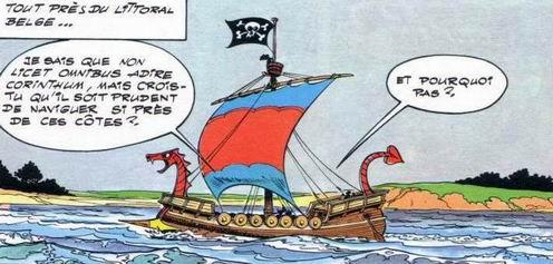 © Dargaud - Asterix chez les Belges